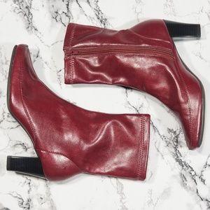 Aerosols comfy red boots